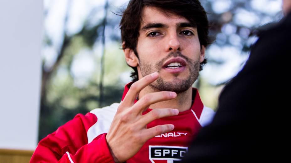 Kaká fala a VEJA sobre futuro na MLS