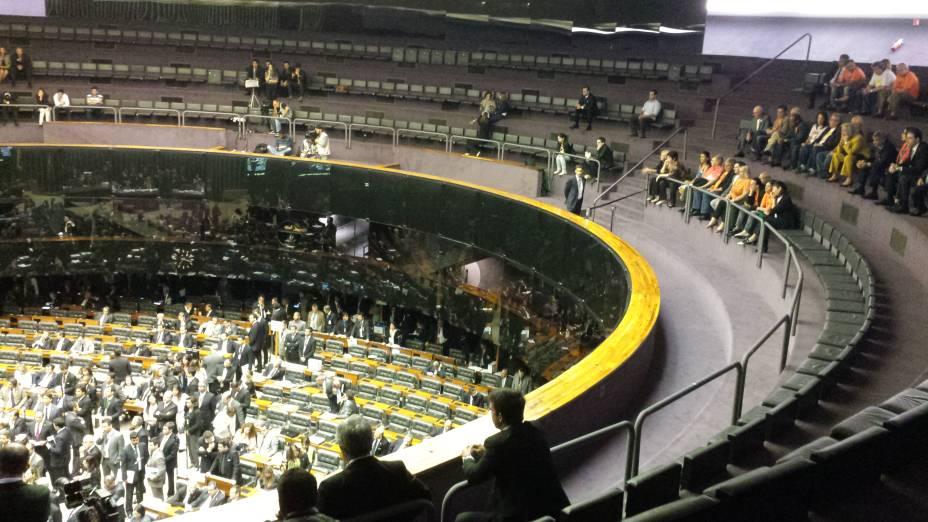 Congresso inicia sessão para votação de vetos e de mudança na meta fiscal