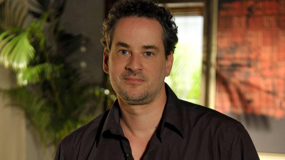 O ator Dan Stulbach que assinou contrato com a Band