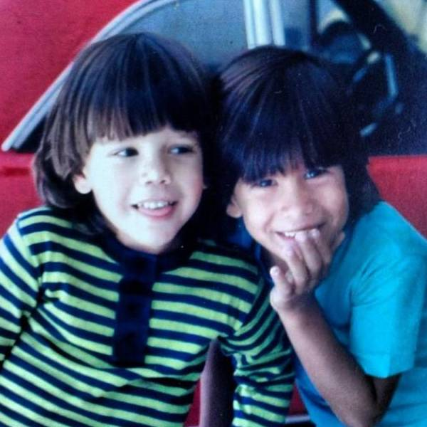 Márcio Garcia e o irmão, Marcelo