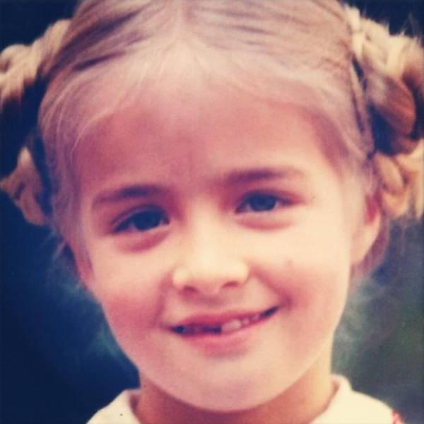 Angélica quando criança