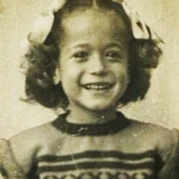 Susana Vieira quando criança