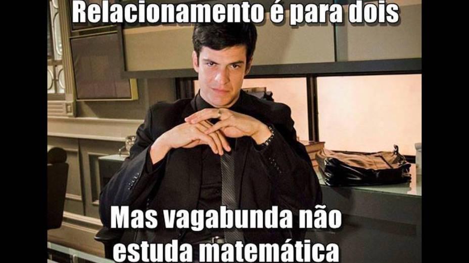 Meme do perfil Felix Bicha Má no Facebook