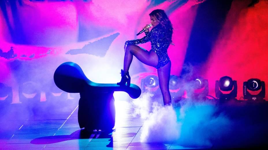 A cantora Beyoncé no VMA 2014