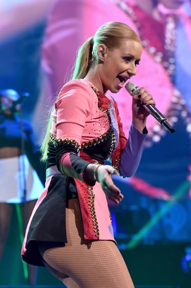 A cantora Iggy Azalea