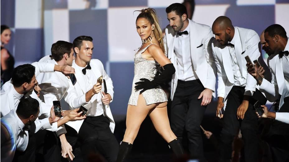 A cantora Jennifer Lopez