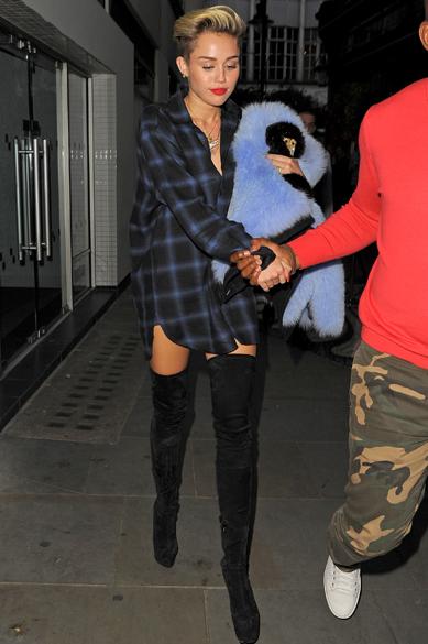 A cantora Miley Cyrus