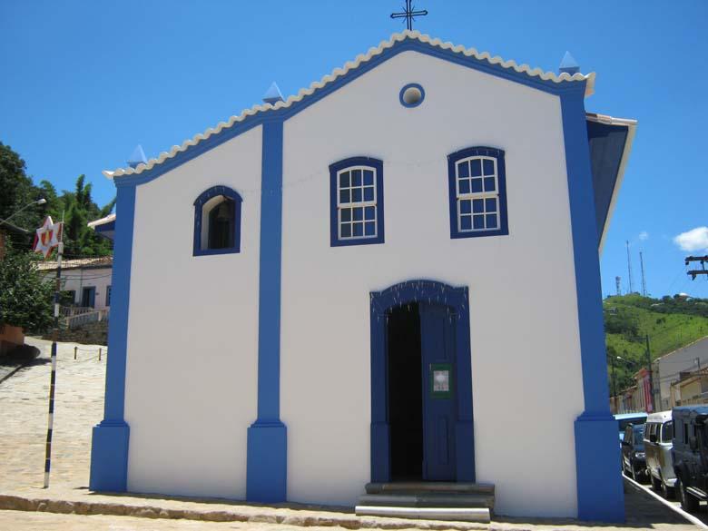 A Capela das Mercês, uma das mais tradicionais de São Luiz do Paraitinga, já foi reinaugurada