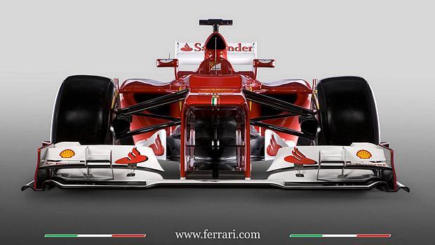 A Ferrari apresentou nesta sexta-feira o F2012, seu carro para temporada 2012