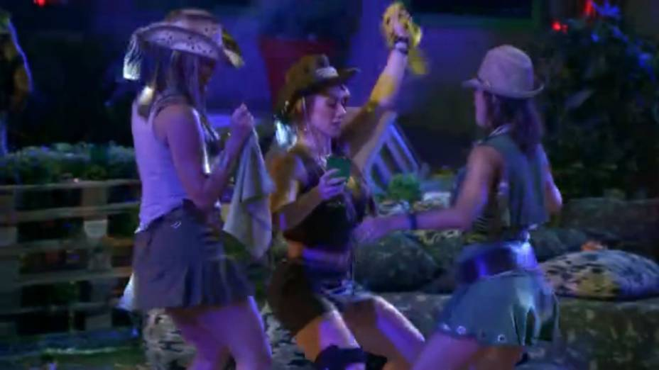 A festa Selva do BBB14