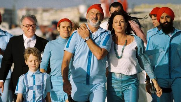 Cena do filme A Vida Marinha com Steve Zissou (2004)