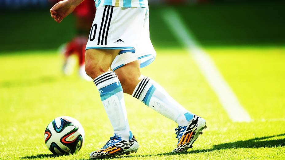 Messi durante partida no Mineirão