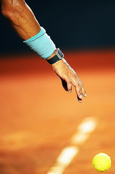 O espanhol Rafael Nadal no Rio Open 2014