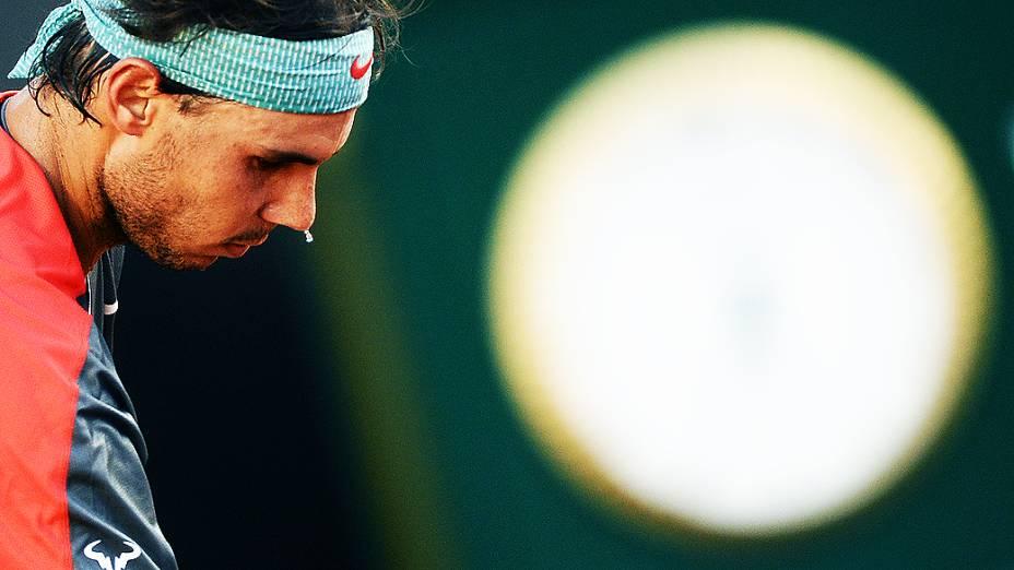 Rafael Nadal durante o Rio Open 2014