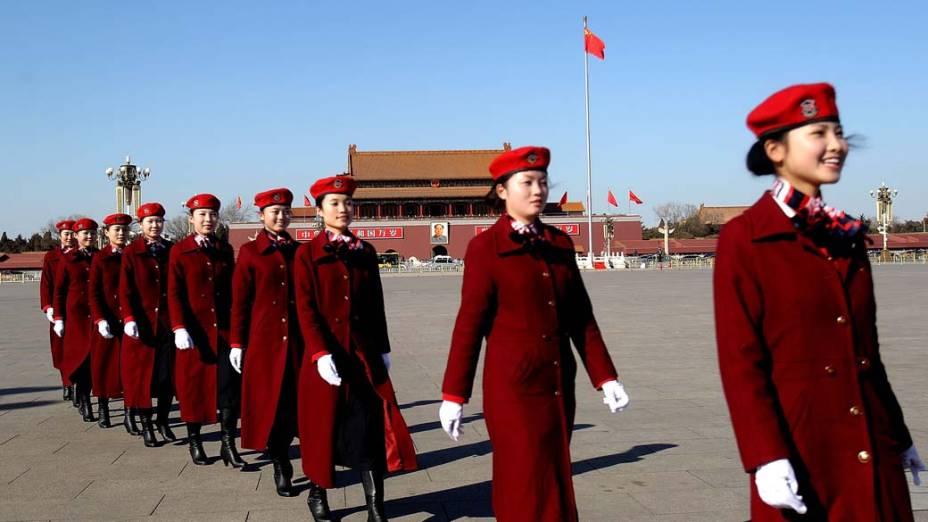 Abertura da Conferência Consultiva Política do Povo Chinês, Pequim