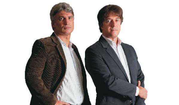 Romênio Machado e José Quintella