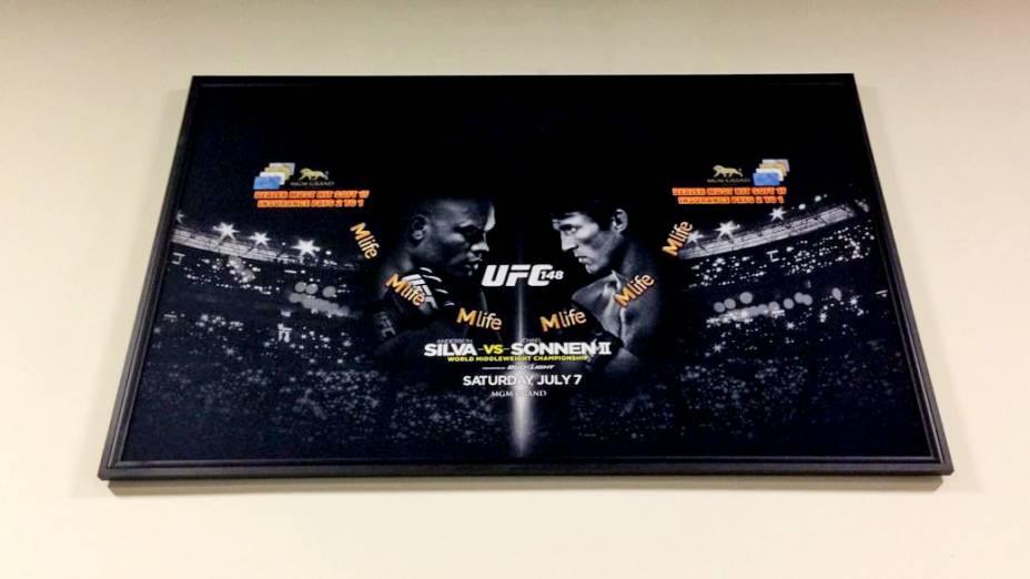 <br><br>  A academia Muay Thai College, do campeão Anderson Silva, em Torrance, na Califórnia