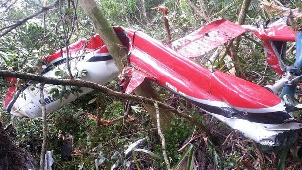 Queda de helicóptero matou cinco pessoas em Bertioga