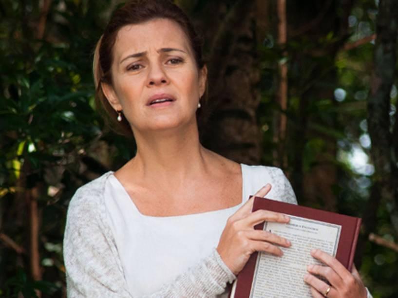 Adriana Esteves gravou cena de nu frontal para o filme Real Beleza