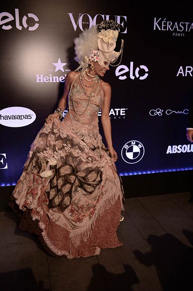 Adriane Galisteu no Baile da Vogue