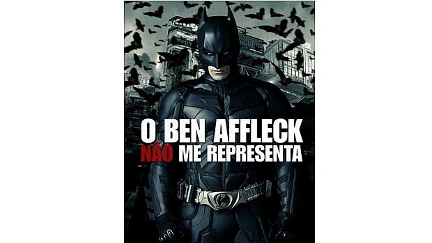 Fãs do Batman não gostaram da escolha de Ben Affleck para o papel