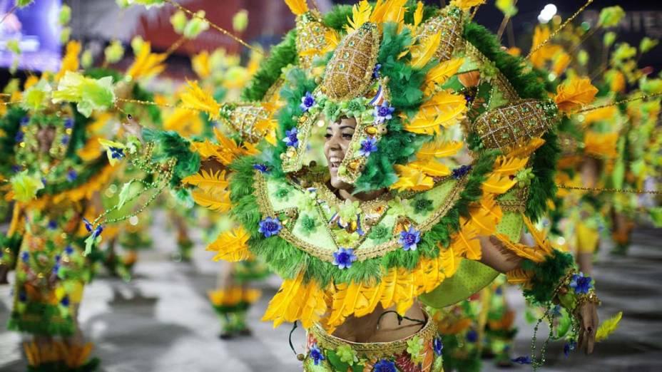 Desfile da Águia de Ouro, em São Paulo