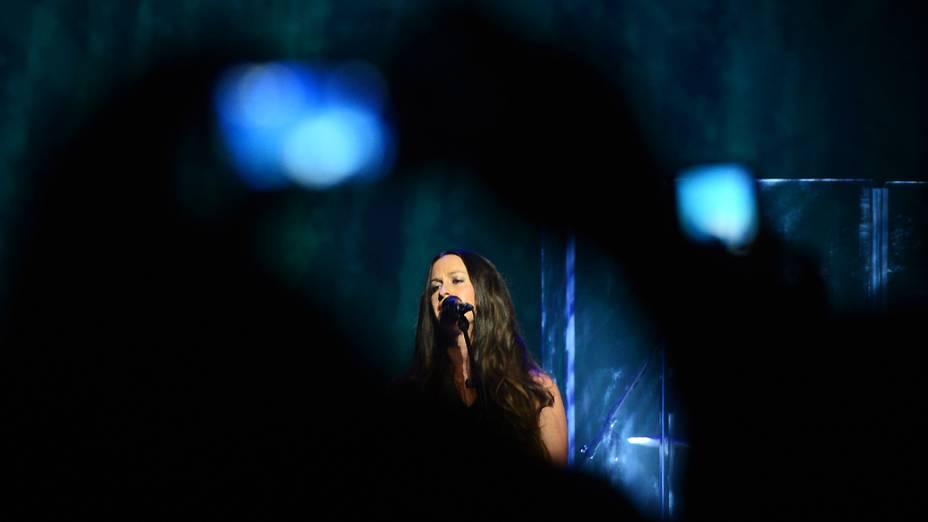 Show da cantora canadense Alanis Morissette em São Paulo