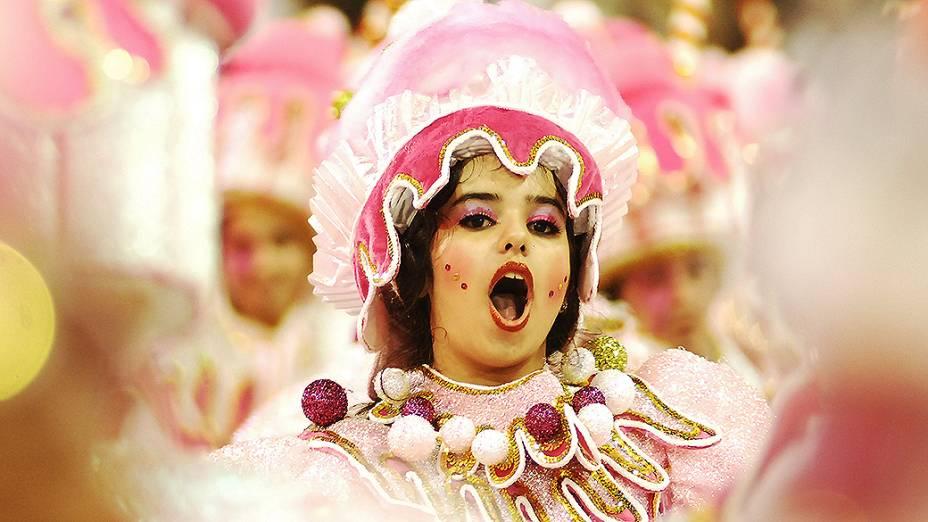 Integrante da Mocidade Alegre, campeã do Carnaval de São Paulo em 2013