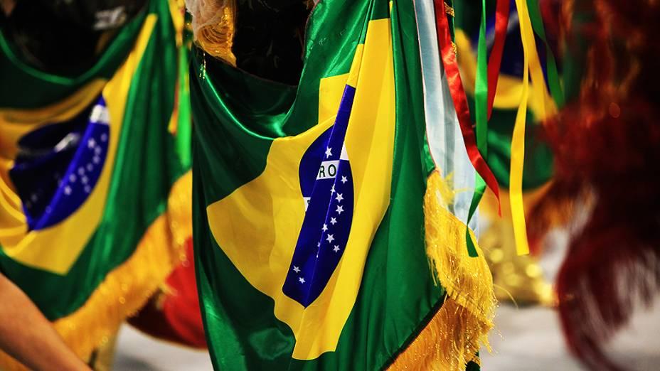 Desfile da Acadêmicos do Tatuapé em homenagem à sambista Beth Carvalho
