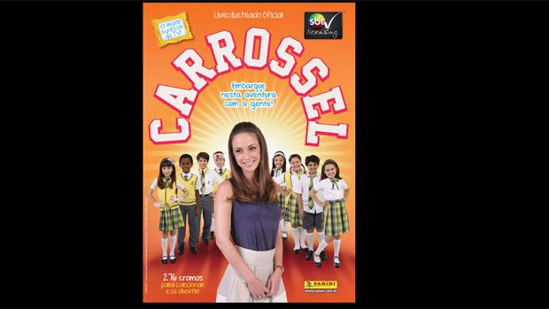 Capa do álbum de figurinhas de <em>Carrossel</em>
