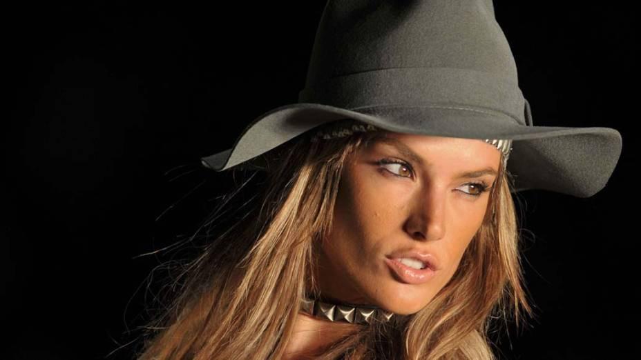 5º lugar - Modelo Alessandra Ambrósio