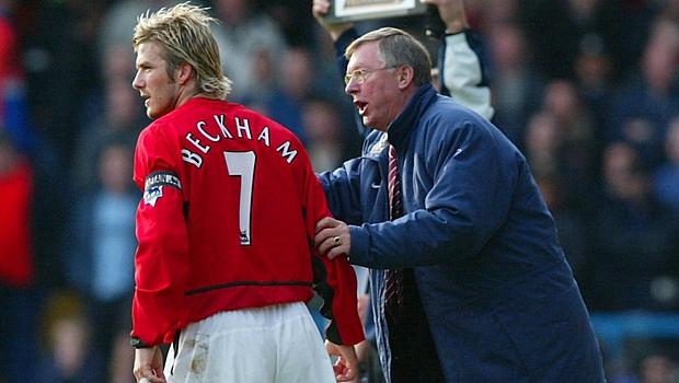 David Beckham foi um dos jogadores lançados por Ferguson ao longo de sua carreira no Manchester