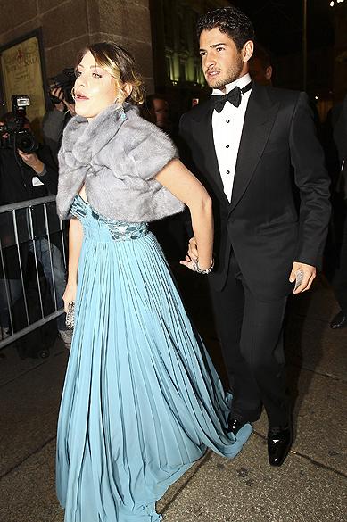 Alexandre Pato e Barbara Berlusconi, em Milão, em 2012