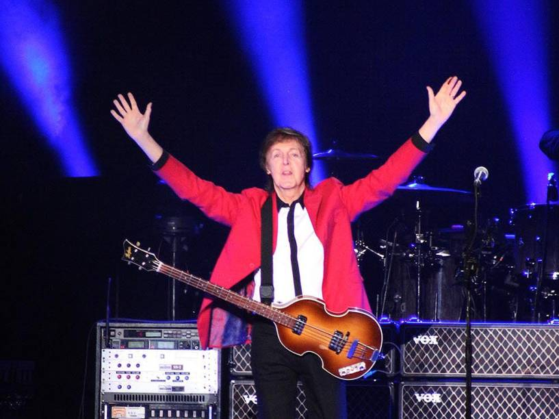 Show da Turnê Out There do cantor Paul McCartney, em BrasÌlia (DF) neste domingo (23)