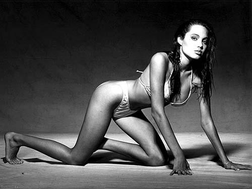 Angelina Jolie na década de 1990