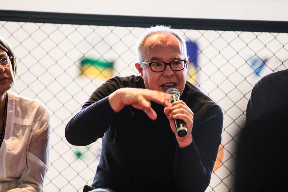 O escocês Charles Esche, curador da 31ª Bienal de Artes de SP