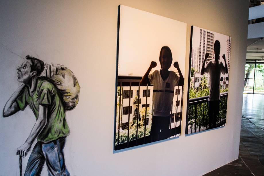 A Fortaleza reúune fotografias do artista paulistano radicado no Ceará Yuri Firmeza