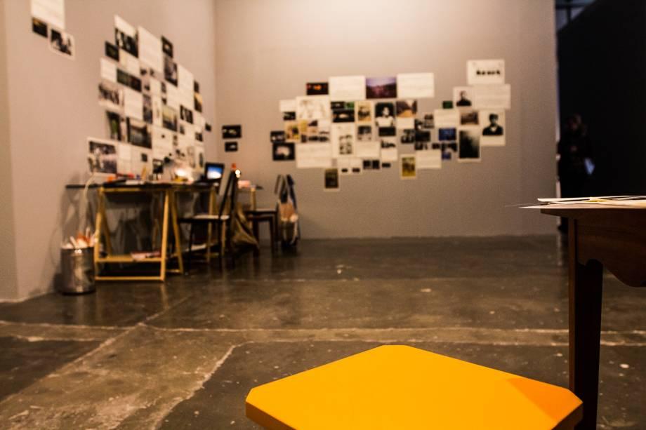 A instalação The Incidental Insurgents (Os Insurgentes Incidentais), dos artistas palestinos Basel Abbas e Ruanne Abourahme