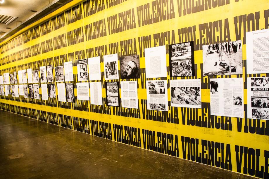 Violência, do artista argentino Juan Carlos Romero