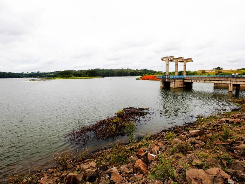 Reservatório de água de Jundiaí tem capacidade de 8,3 bilhões de litros