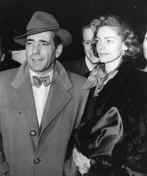 Lauren Bacall e Humphrey Bogart em 1951