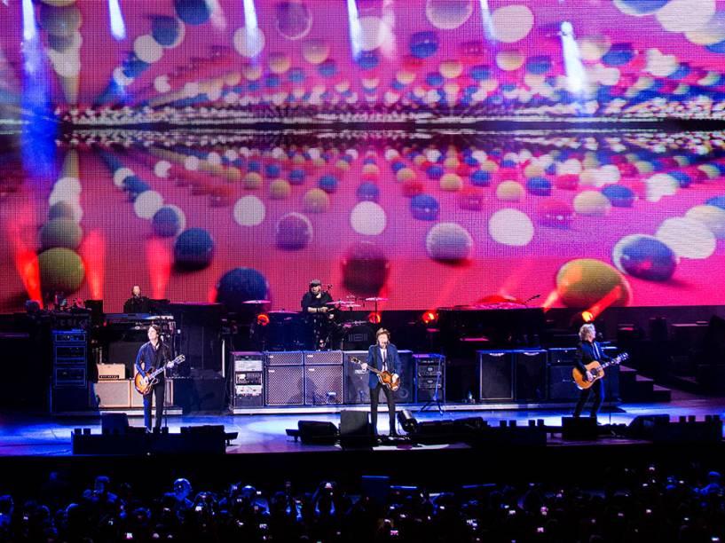 Paul McCartney se apresentou no último dia 12 no Espaço HSBC no Rio de Janeiro