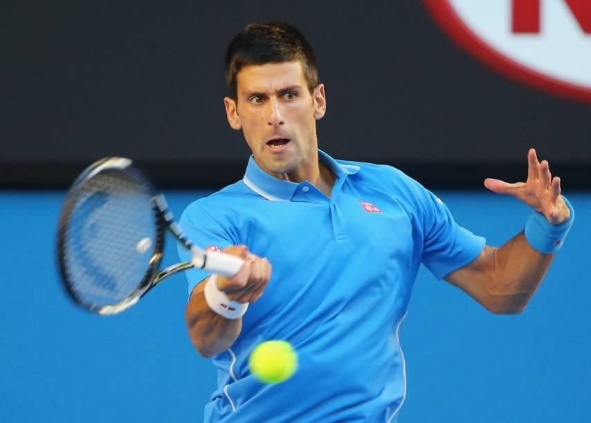 Novaj Djokovic vence canadense Milos Raonic e vai à semifinal em Melbourne