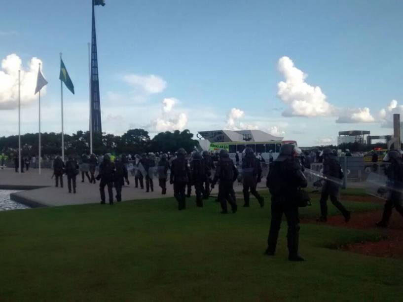 Protestos contra Lula em Brasília