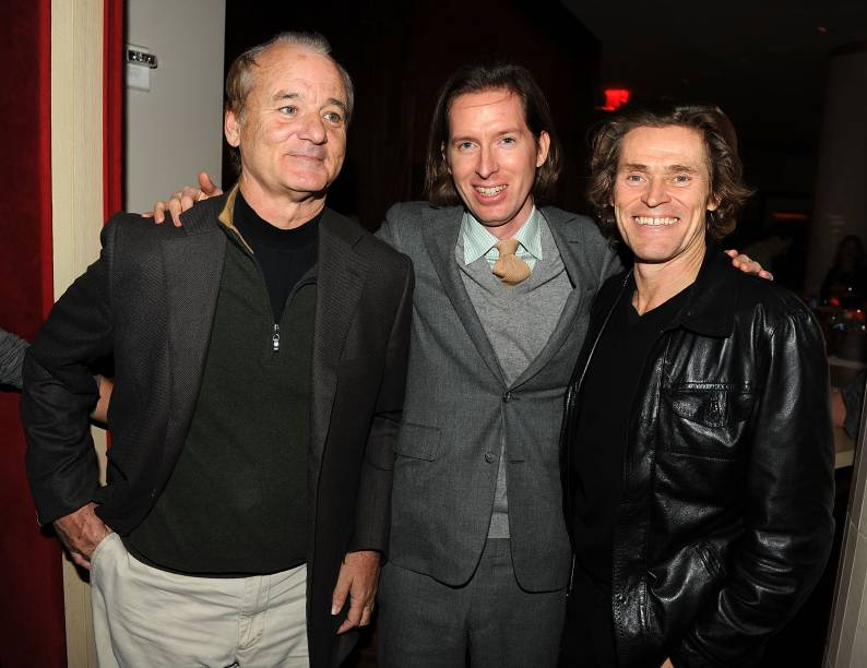 Bill Murray, Wes Anderson e Willem Dafoe