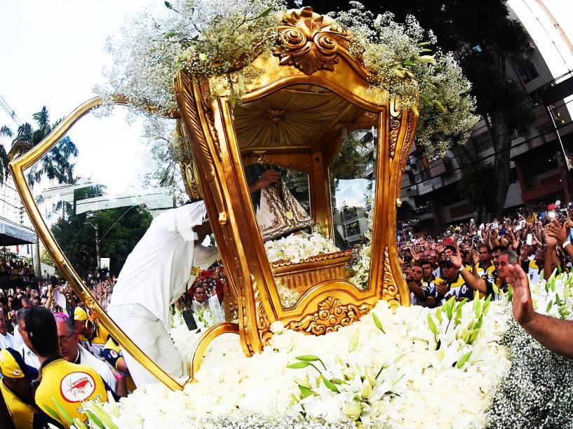 Imagem de Nossa Senhora de Nazaré segue em Romaria