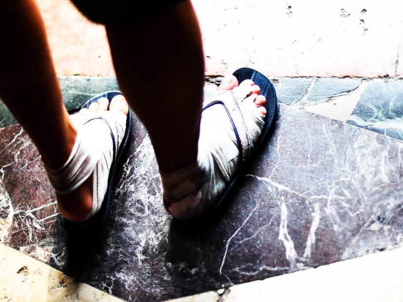 A primeira das 12 romarias oficiais do Círio de Nazaré. A mais longa procissão, que percorre 48 quilômetros, com a imagem peregrina de Nossa Senhora de Nazaré, em Belém