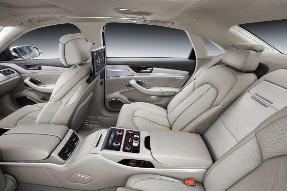 Interior do Audi A8