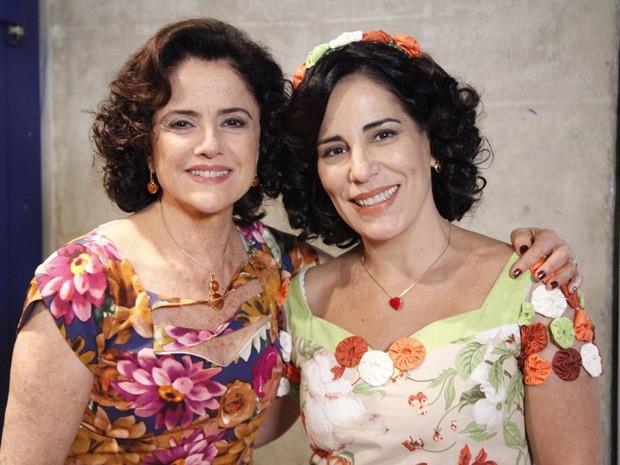 Marieta Severo e Glória Pires, as duas Donas Nenês de A Grande Família