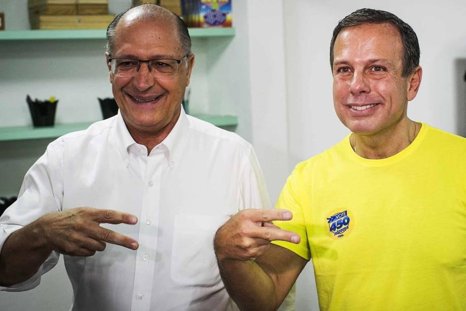 O pré-candidato a Prefeitura de São Paulo pelo PSDB, João Dória, vota no Diretório do Jardim América, nas prévias do partido para a escolha do representante a disputa do cargo de Prefeito de São Paulo